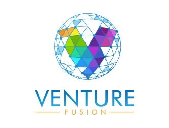 VentureFusion logo design