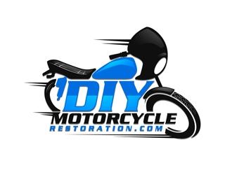 DIYMotorcyclerestoration.com logo design