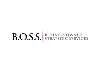 Business Owner Strategic Services  or (B.O.S.S.) logo design by BeDesign