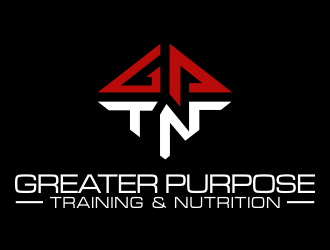 Greater Purpose Training & Nutrition  logo design