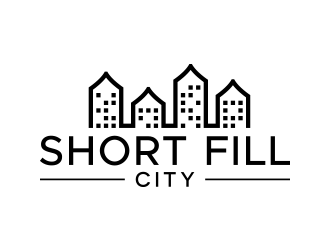 Short Fill City logo design
