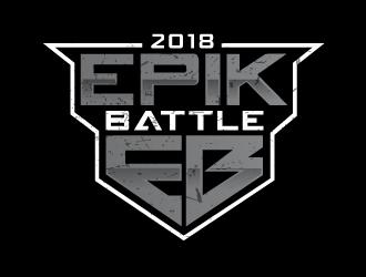 EPIK BATTLE logo design