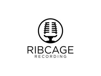 Ribcage Recording logo design