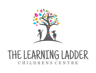 The Learning Ladder Childrens Centre logo design