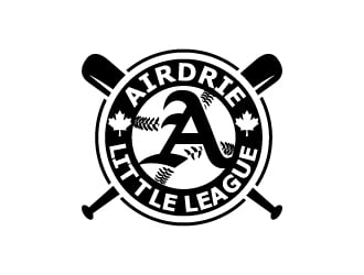 Airdrie Little League logo design