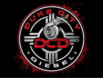 Duke City Diesel logo design