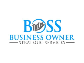 Business Owner Strategic Services  or (B.O.S.S.) logo design