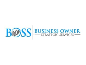 Business Owner Strategic Services  or (B.O.S.S.) logo design by pixalrahul