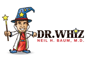 Neil H. Baum, M.D. is Dr. Whiz logo design