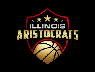Illinois Aristocrats logo design
