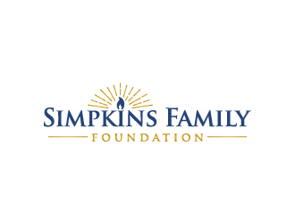 Simpkins Family Foundation logo design