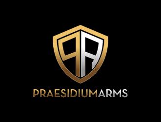 Praesidium Arms logo design