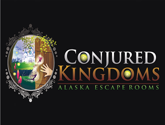 Conjured Kingdoms  logo design