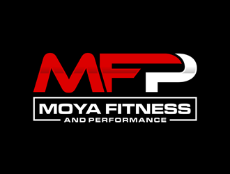 Moya Fitness and Performance  logo design