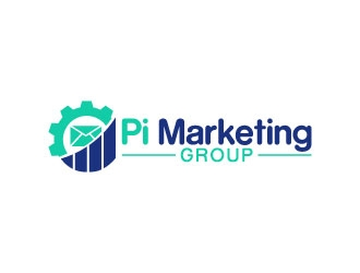 Pi Marketing Group logo design