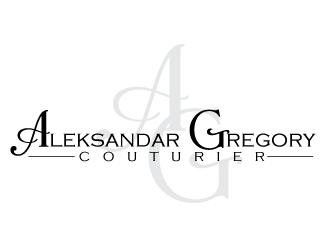 Aleksandar Gregory Couturier logo design