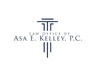 Law Office of Asa E. Kelley, P.C. logo design
