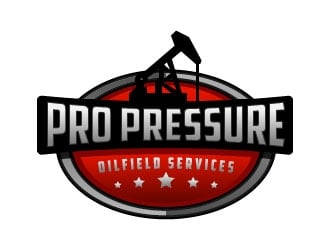 PRO PRESSURE OILFIELD SERVICES logo design