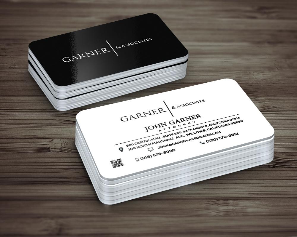 Stationery design portfolio by 48hourslogo 125 garner associates logo design reheart Images