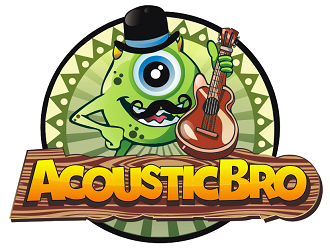 AcousticBro logo design