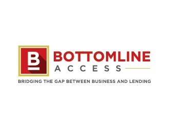 Bottom Line Access logo design