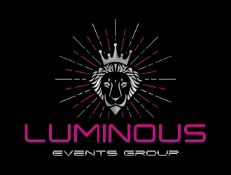 Luminous Events Group logo design