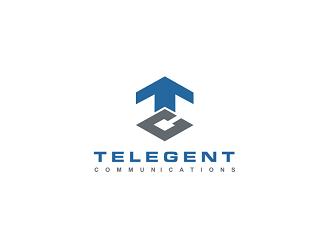 Telegent  logo design