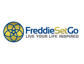 FreddieSetGo   Live Your Life Iinspired logo design