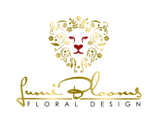 Lumi Blooms  logo design