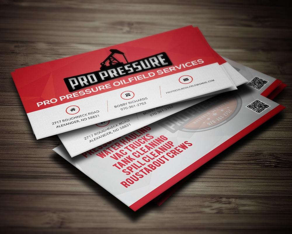 PRO PRESSURE OILFIELD SERVICES brand identity design - 48HoursLogo.com