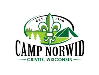 Camp Norwid logo design