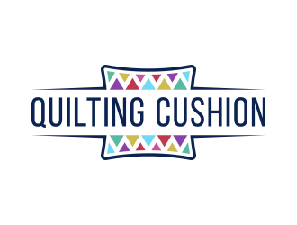 Quilting Cushion logo design