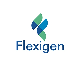 Flexigen logo design