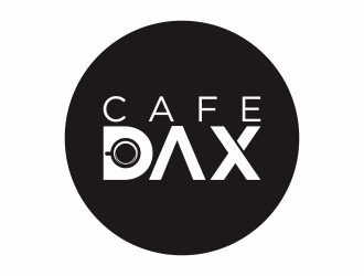 DAX Cafe logo design