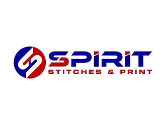 Spirit Stitches & Print logo design