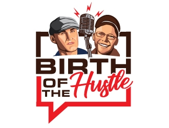 Birth of the Hustle logo design