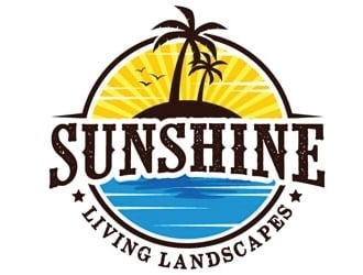 Sunshine Living Landscapes logo design