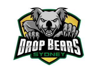 Sydney Drop Bears logo design
