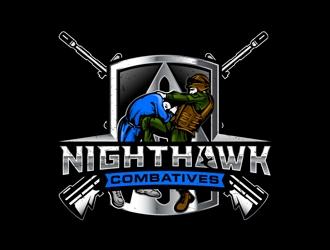 Nighthawk Combatives logo design
