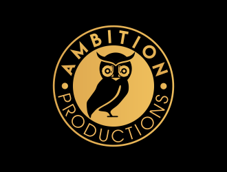 Ambition Productions logo design