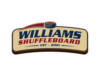 Williams Shuffleboard logo design