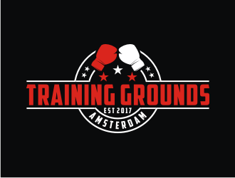 Training grounds Amsterdam logo design