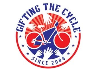Gifting the Cycle logo design