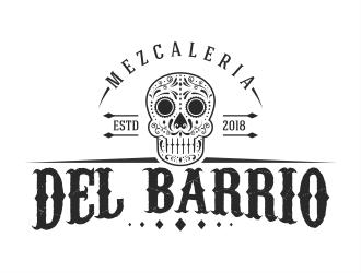 Del Barrio - mezcaleria logo design