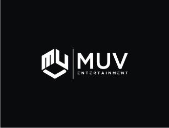 MUV Entertainment logo design