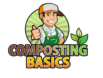 Composting Basics logo design