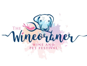 The Wineoraner logo design