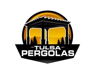 Tulsa Pergolas logo design
