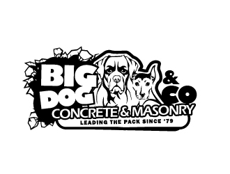 Big Dog n Co logo design