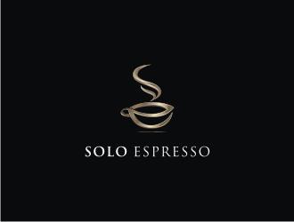Solo Espresso logo design